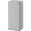 Aluminium enclosures with cable hole