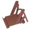 Holder for wheel chock - Metal holder