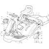 Karosserie für Castelgarden TYP F72-F72 Hydro - Baujahr 2002