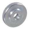 DIN 467 flat knurled nuts, metric zinc-plated