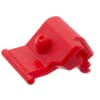Red plug for easy lock guard