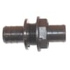 Arag straight coupling with bulkhead and hose ends