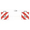 Hazard sign set - with lights (LED) 423 x 423mm