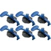 Set of 6 windshield suction cups