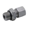Male stud coupling with nut and seal GEV-BSP-WD