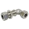 Stainless steel bulkhead elbow WSV
