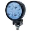 Work light LED, 800lm, round, 12/24V, blue, bolt on, 110.4mm, 4 LED's, Hella