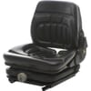 PVC seat, mechanically sprung, switch TS45000GP