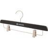 Flat wooden clips hanger