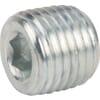 Solid tapered plug socket head NPT (VSC)