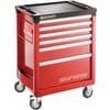 CHRONO.6M3 Tool trolley, 6 drawers
