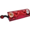 Europoint II rear lamp with end-outline marker lamp 24V