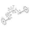 Stroj na burinu / sekačka Kongskilde, ochrana proti lístiu, Vibro Corn