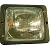 Headlight Halogen, rectangular, 12/24V, transparent, bolt on, 173x99x144mm, Hella