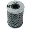 Hydraulic steering filter