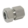 Stainless steel parallel female stud coupling GAV-Metric