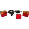 Rear light set with fog lamp 4 m cable