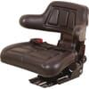 PVC seat, rear mechanical suspension  TS15601GP