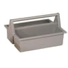 Portable Tool Container Plastic Grey