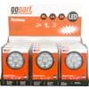 Work light LED 12 pc kit, 15W, 1710lm, round, 10-30V, 107x41.5xFlood, gopart