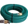 PVC suction hose complete with coupling and suction strainer