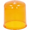 Large light lens, orange