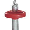 Manoeuvring handle for wheel jack