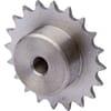 Kettingwielen voorgeboord - BS /DIN 8187 - simplex 05B-1