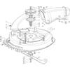 Schneidwerkzeug - Mähdeck für Castelgarden TYP F72-F72 Hydro - Baujahr 2002