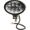 Work light LED, 24W, 2240lm, oval, 10/30V, 141.5x64.5x90mm, Flood, 8 LED's, Kramp