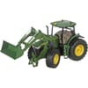 S06792 John Deere 7310R with front loader and Bluetooth app control