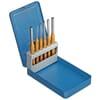 SB 116 D 6-piece pin punch set in metal case