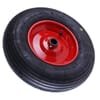 "Pneumatic wheel 16""x4"" with roller bearing, 25mm bore"