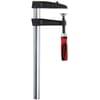 TGK malleable cast iron screw clamp, 2-component plastic handle