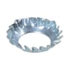 DIN 6798V countersunk serrated washers, zinc-plated