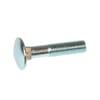 DIN603 Vis à tête ronde sans écrou, métriques 10.9, zingués