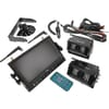 Wireless observation system 2 cameras (quad screen) 2.4Ghz