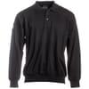Polo sweatshirt one-colour Original