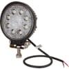 Work light LED, 24W, 1920lm, round, 10/30V, Ø 110mm, Spot beam, 8 LED's, Kramp