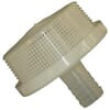 Foot strainers with top hosetail - Arag