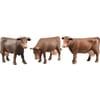 U02308 Cow set (6x head right, 6x head low, 4x head left)
