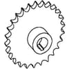 Feed system sprocket