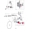 12 Kotúčové krojidlo vhodný pre Agrolux / Kongskilde XRWT OL 6975