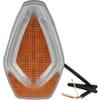 Direction and position light LED, front 12V, amber/white, bolt on, Kramp