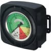 Pressure gauge for electrical control unit