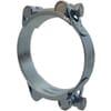 DSHC hose clamps, heavy duty, galvanized