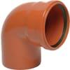 PVC bend 87,5°