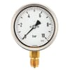 Pressure gauge bottom connection, 100 mm, stainless steel