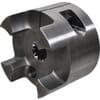 Spidex koppelingshelften staal, met profiel en klemnaaf - type A
