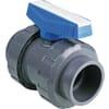 PVC-U kogelkraan - Mof (PVC) x Mof (PVC)
